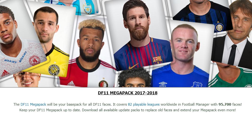 Как установить facepack в football manager 2018
